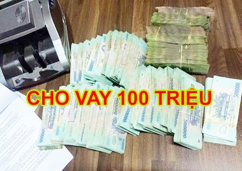 vay nóng 100 triệu tại TPHCM